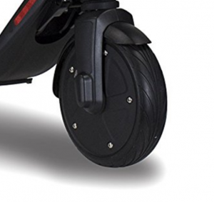 Electric scooter solid rubber tyres