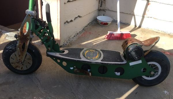 electric scooter tuning